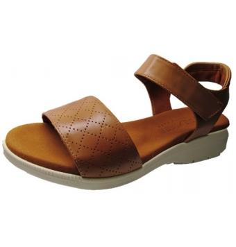 Sandalias cuña baja